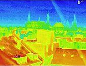 Aachen: Wärmebild / Thermografische Aufnahme