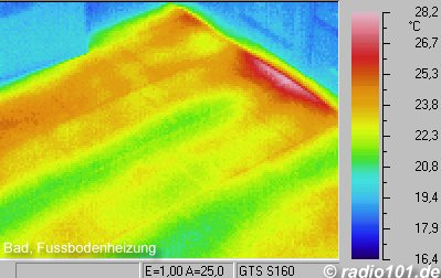 Thermal imaging of buildings: infrared / thermal image