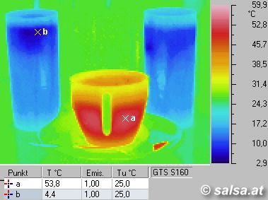 2 cocktails and a cup of coffee (more thermografic pictures: click here)