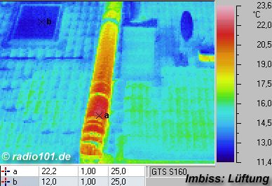thermal images of houses