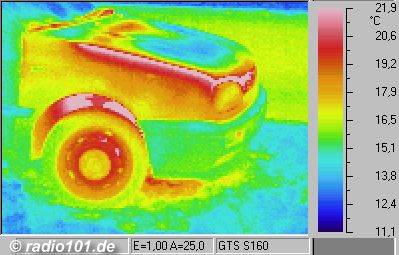 Engine (thermographic / thermal picture)